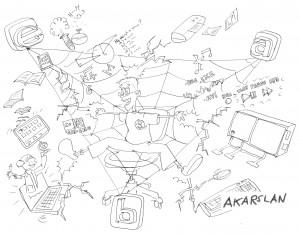 yarışma eba karikatür
